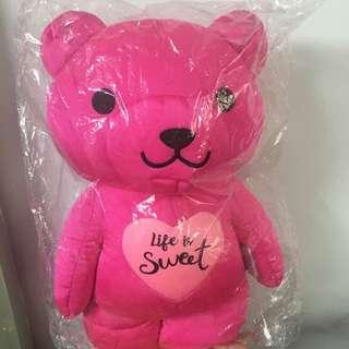 Etude House Dark Pink Bear