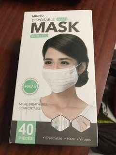 Miniso disposable mask (PM2.5)