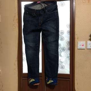 (大割價七折出售 - 之前價格 $1500)Levi's x Comme des Garçons  男裝牛仔褲