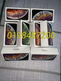 iPhone Xs max 512gb 5499rm 0198487200