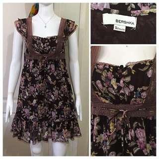 SO025 Bershka vintage dress