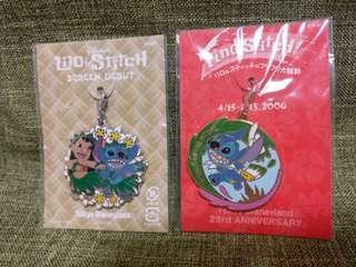 絕版Tokyo史迪仔吊飾Disney pin
