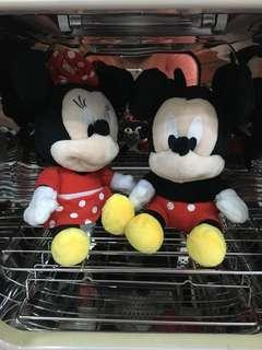 Disney mickey and Minnie sof toys limited edition from Poh Kong