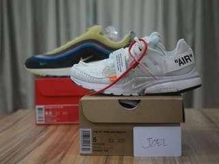 《SOLD》 5US Off-white x Nike Air Presto