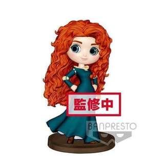 預訂 3月 Banpresto 日版 Q posket Petit 迷你版 Disney 迪士尼 公主系列 勇敢傳說 Brave Merida 梅莉達