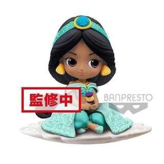 預訂 3月 日版 Banpresto Q Posket Sugirly Disney 迪士尼公主系列 阿拉丁Aladdin Jasmine 茉莉公主 A