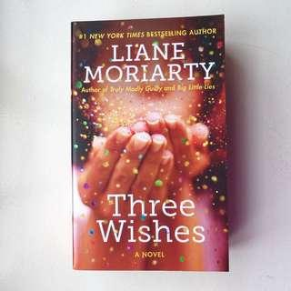 NEW Three Wishes by liane moriarty