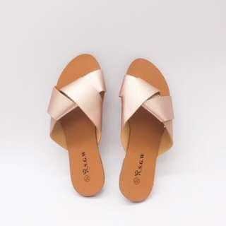 Korean Slippers (Champagne) LAST PRICE!