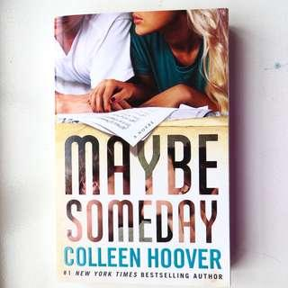 NEW: Maybe Someday by Colleen Hoover