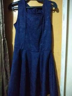 *FREE DELIVERY* Dark Blue Dress