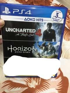 Uncharted and horizon