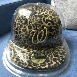 🚚 NEW ERA 日本限定/黃金豹紋 帽子
