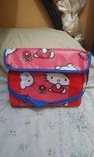 Brandnew Hello kitty thermal insulated lunch bag