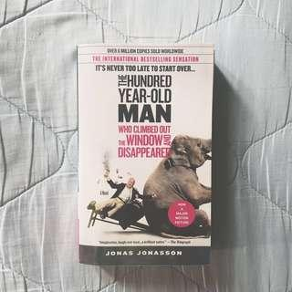 BOOK FOR SALE: The 100-Year Old Man Who Climbed Out the Window and Disappeared BY Jonas Jonasson