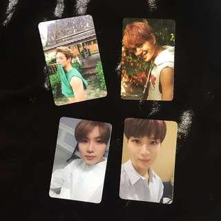 [WTT] SHINee, Monsta X and NCT DREAM Photocards