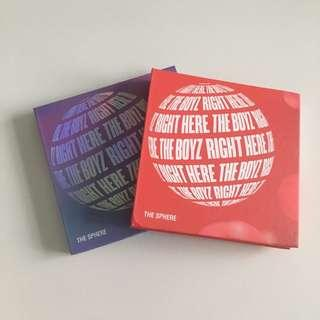 [wts] the boyz the sphere unsealed albums