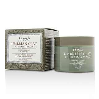 Fresh Umbrian Clay Purifying Mask 意大利白泥淨化排毒面膜 100ml deep clean
