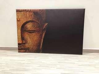 Golden Buddha Painting