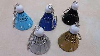 羽毛球匙扣handmade 每個