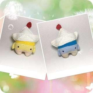 Paper boat - Amigurumi Crochet Doll