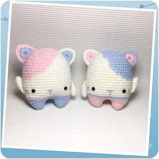 Kittens - Amigurumi Crochet Dolls