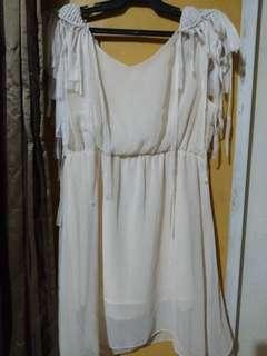 *FREE DELIVERY* Cream Dress