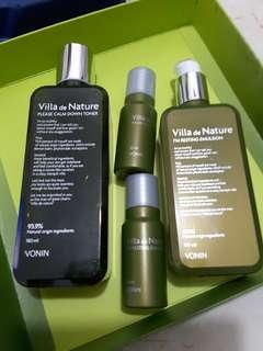 VONIN basic skin care specialset