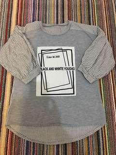 Preloved grey top