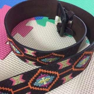 REDUCED! —Roxy Leather Belt