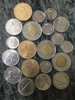 舊加幣20個 加拿大🇨🇦
