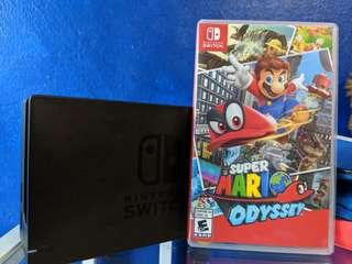 Switch dock and mario odyssey