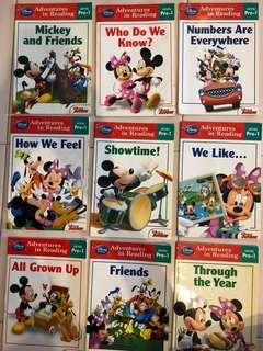 🚚 Mickey Mouse Clubhouse: Reading Adventures Mickey Mouse Clubhouse Level Pre-1 (Set of 9 books)
