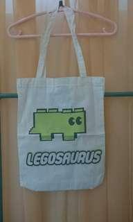 Totebag Legosaurus