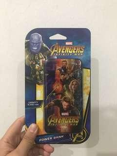 Limited edition petron avengers powerbank