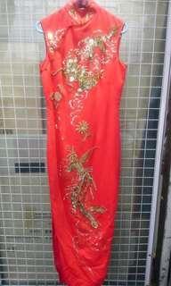 裕華人手制中式旗袍