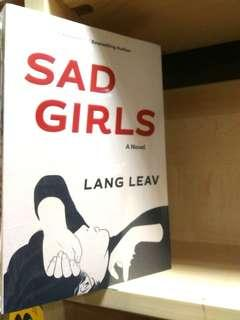 NEW BOOK Sad Girls Lang Leav