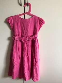 🚚 Chateau de stable Pink Dress(Size 4 for 4 year old)