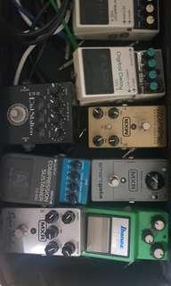 Bunch of pedals to sell for MXR only. $100 each. Used once.