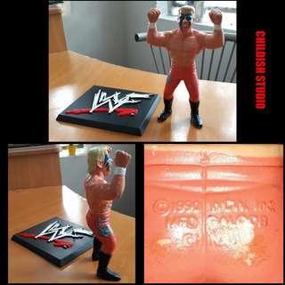 Rare & Vintage 1990's WCW STING action figure