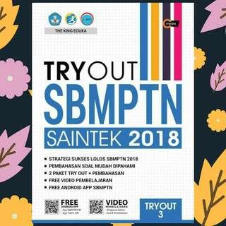 EBOOK TRYOUT SBMPTN SAINTEK 2018