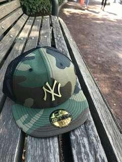 New era yankees Camo fitted mash