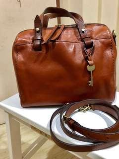Fossil Rachel Satchel - Pure Leather Bag