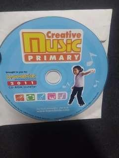 Free : PC CD Rom : Creative Music Primary