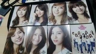 Girls Generation Collectable Postcards