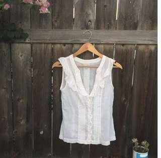Anthropologie Odeille Blouse - Size 0