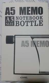 A5 Notebook Bottle