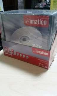 IMATION CD-R 20 pieces