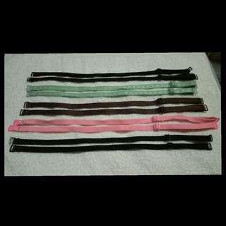 Bundled strap bra
