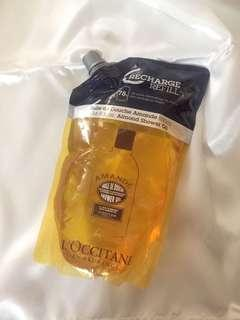 Loccitane almond bath oil refill