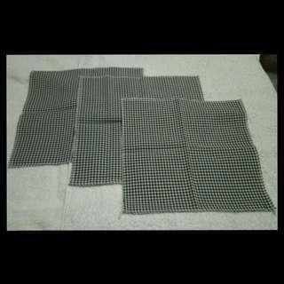 Checkered handkerchiefs